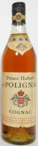 70cl (not stated), printed on the shoulder label is 'Prince de Polignac; underneath on the label: 'Ce cognac a eté surveillé dans sa distilliation et ....'; screw cap (1970s)