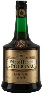 70cl (1970s); just Prince Hubert on the shoulder label with 3 stars