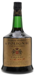On the shoulder: VSOP fine champagne; 94cl Italian import by Valdotaine (est. 1960s)