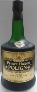On shoulder label: Fine Champagne above VSOP Cognac; 1 Litre stated
