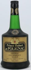 On shoulder label: Fine Champagne above VSOP Cognac; 40%vol and 70cl stated; low on the label: 'cognac France'
