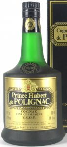 On shoulder label: Fine Champagne above VSOP Cognac; stated is 40%vol and 70proof, also 68cl and 24 fl.oz (1970s); Dent & Reuss, Hereford import