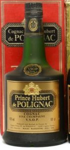 On shoulder label: Cognac VSOP stated above Fine Champagne; 69cl and 40% stated