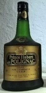 On shoulder label: Fine Champagne above VSOP Cognac; 40° and 70cl stated; underneath: 'produced and bottled in France'