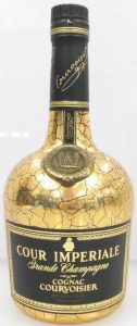 0.70 stated on the back; Asian import; Cognac France stated beneath the back label