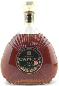 1.5L XO Superior, address line reads: 1600 Cognac France