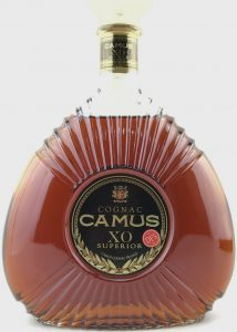 1.5L XO Superior, address line reads: Camus Cognac France