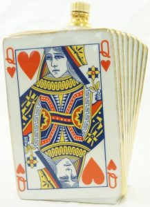 0.75 Queen of hearts, Asian import (1990); different back