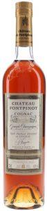 Chateau Fontpinot, grande champagne; slender bottle 70cl