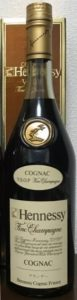 With different Asian characters underneath 'cognac'; 700ml