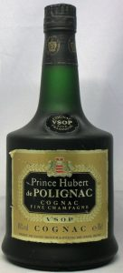 On shoulder label: Cognac VSOP stated above Fine Champagne; 40%vol and e70cl stated