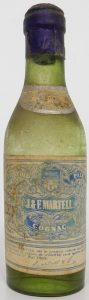 with a cork; no Martell on top of main label; said to be 4,5cl (before 1930)