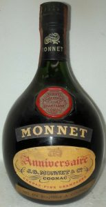 The red shoulder blob look bi-coloured; 73 cl stated on the back; Italian import for F. LLI Gancia & C. S.A.V.A.S.-S.p.A., Canelli
