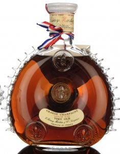With 70 proof and 40% Gay Lussac stated on the neck; also: exportation only