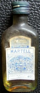 Small dry pale bottle