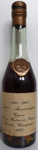 50th Anniversary (1981), celebrating the founding of Unicoop (35cl)