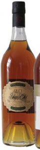 20 years old, no cru stated, a red house on the capsule; 70cl stated on the left; with a number on the glass just below the capsule