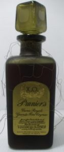 XO, Cuvée Royale, Grande Fine Cognac; look how the the filigrane gets lost; 0.7L stated on the back