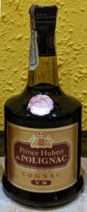 VS, 70cl; with a paper duty seal on top