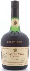 e0,70L stated; with 'Le Cognac de Napoleon' in small print below the signature in English (1970s)