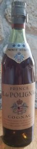 73cl (not stated), printed on the shoulder label is 'Prince Hubert; underneath on the label: 'Provenance directe de ....' (1940s); with an Italian metal duty seal