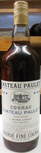 Different capsule and Chateau Paulet in blue letters