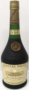 'Cognac Napoleon' lower on the label; 'Chateau Paulet'; Asian sticker on the neck and a neck blob
