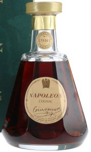 Extra address line underneath, said to be 75cl on auction, but not stated, no back-label