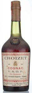 750cc, Italian import for Fratelli Cora, Torino; with aquavite di vino stated lower, were the importer data are