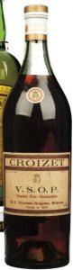 Old cognaçaise bottle