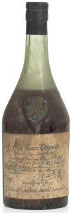 Très Vieux Cognac (garanti plus de 100 ans d'age)