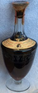 Same decanter, no box present; US import; probably 1894 vintage was stated on the box