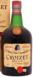 Chateau de Flaville, dumpy bottle (1950s)