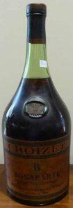 Bonaparte, cognac fine champagne; big bottle (content not stated)