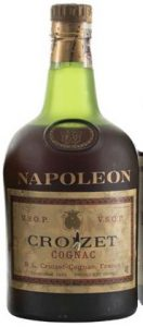 Napoleon with vsop stated on the label; 40° stated