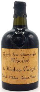 Réserve des Héritiers Croizet, dumpy bottle (est. 1930s)