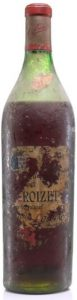 Fine champagne, récolte 1865 bottled 1930s (est.)
