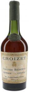 1914 grande reserve vintage cognac, tapered bottle