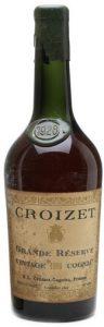 1928 grande reserve vintage cognac, tapered bottle