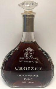1947 vintage; 1805-2005 bicentenaire