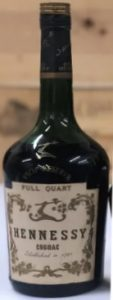 One quart stated on the neck and on the label too (full quart)