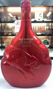 VSOP Red, limited edition with a paper duty seal on top, 70cl, Malaysian import