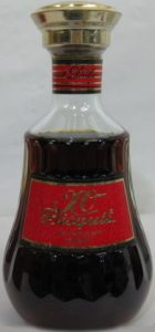 XO, Asian import; 0,7 cl stated on the back, differently