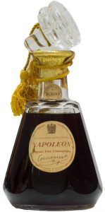 With 'Cognac Fine Champagne' stated; old cap and a yellow cord; Italian import