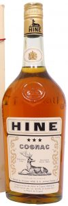 'COGNAC' high on the label, abv and content not stated (1960-70s)