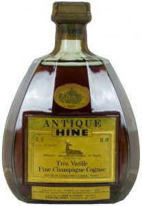 Tres Vieille Fine Champagne cognac; CL 70 stated and with importer data underneath: Wax & Vitale