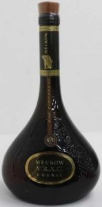 VRXO NPU, brown stopper; Singapore import; 75cl on the back (1985)