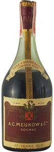 750ml Cordon d'Or with 20 Years Old stated; import by Lichtma * Co, Syracuse N.Y.
