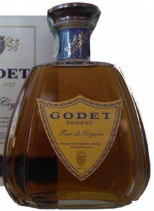 Fine de Cognac with a paper duty seal