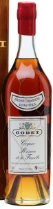 Grande champagne, extra vieille, Reserve de la Famille; low shoulder label; with a pregnancy warning